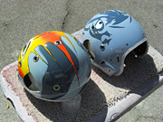 French Jet Aviator Helmets