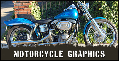 Custom Motorcyle airbrush and paint jobs